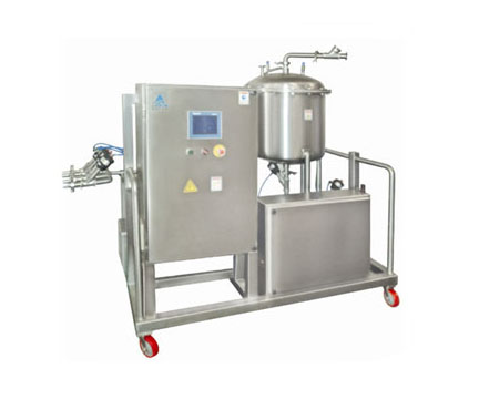 Skid type CIP/WIP System with PLC Controls & 150 Liter Hot water generator