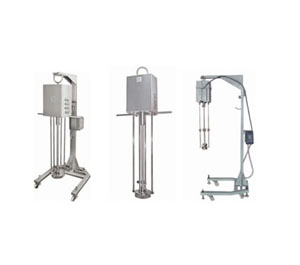 Homogenizer for 500L cap with telescopic stand