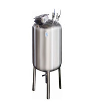 Plain Vertical Storage Tank with welded top disc