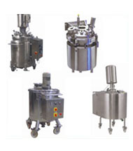 Moveable vessel- Stirrer & Pressure vessel